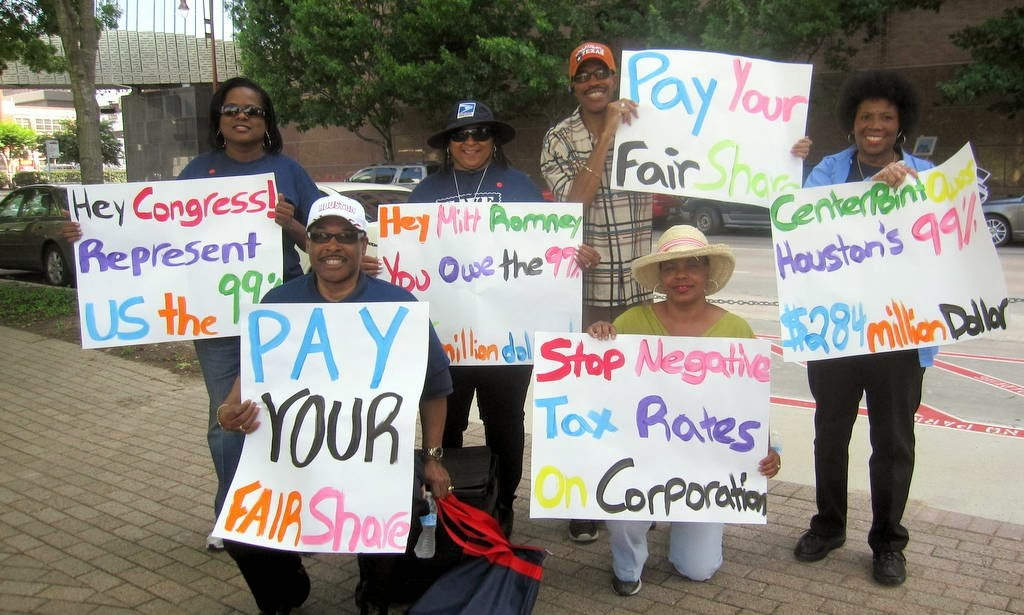 Economic Justice protest