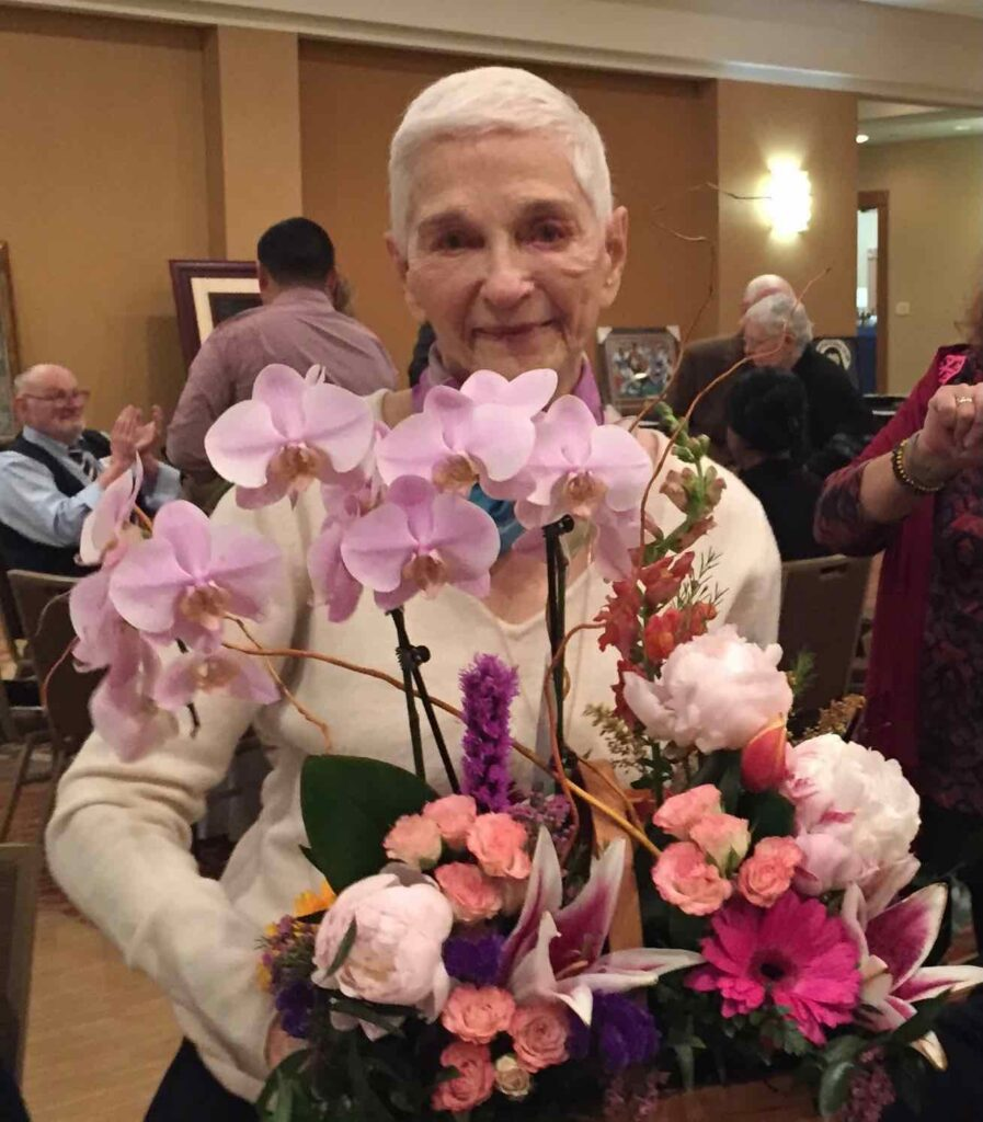 Photo of Sissy Farenthold honored at 2018 HPJC Awards Dinner