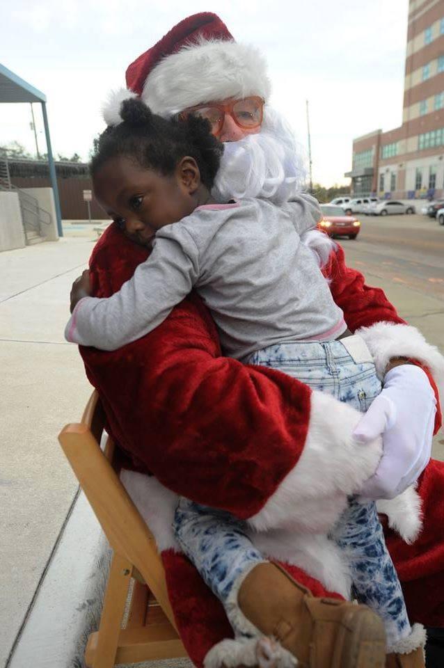 Houston Peace & Justice Center | Santa At The JailSanta At The Jail